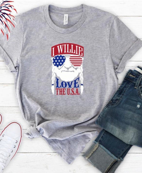Willie Love Tee