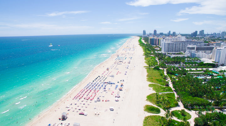 Officials in Miami Beach are Considering a Ban on the Sale of Sunscreens Containing the Two Chemicals Oxybenzone and Octinoxate which Harm Coral Reefs