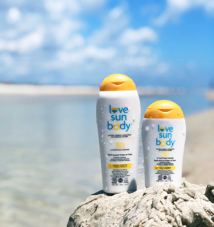 Sunscreen That Protects Both Humans and Coral Reefs