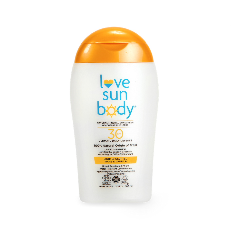 SPF 30 Lightly Scented 3.38 oz / 100 ml (Travel Size)