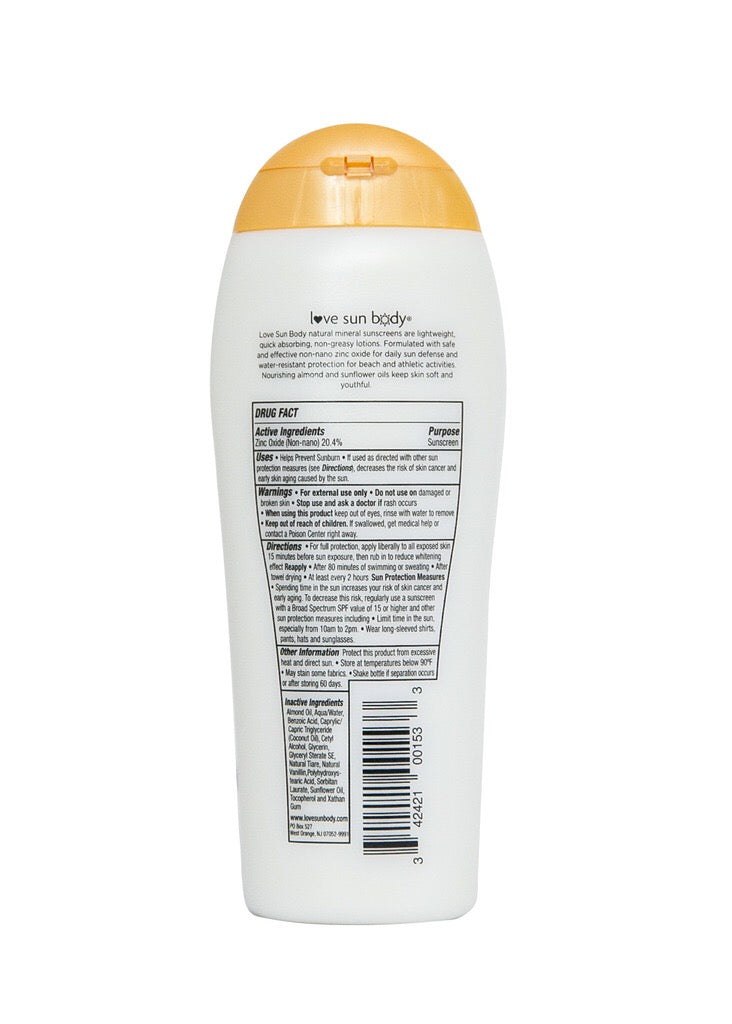 SPF 30 Lightly Scented 6.76 oz / 200 ml