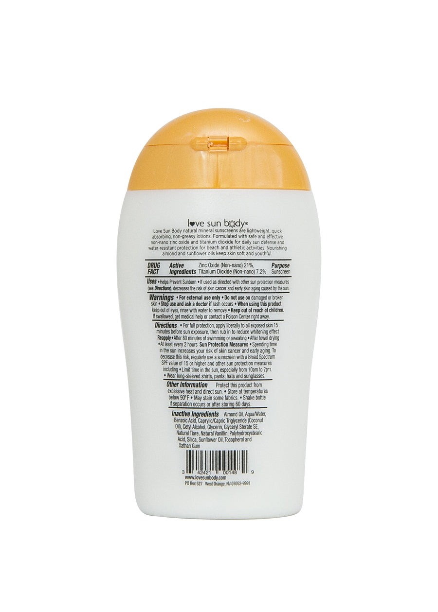 SPF 50 Lightly Scented 3.38 oz / 100 ml (Travel Size)