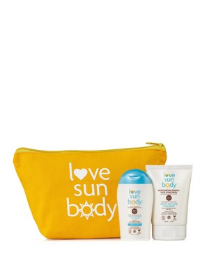 100% Natural Moisturizing Mineral Face Sunscreen & SPF 50 Body Sunscreen Gift Set