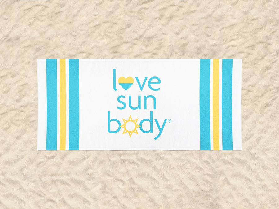 Love Sun Body 100% Cotton Beach Towel