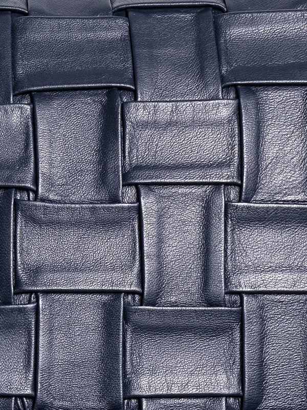 Dalton Plissé Nappa Leather Cushion