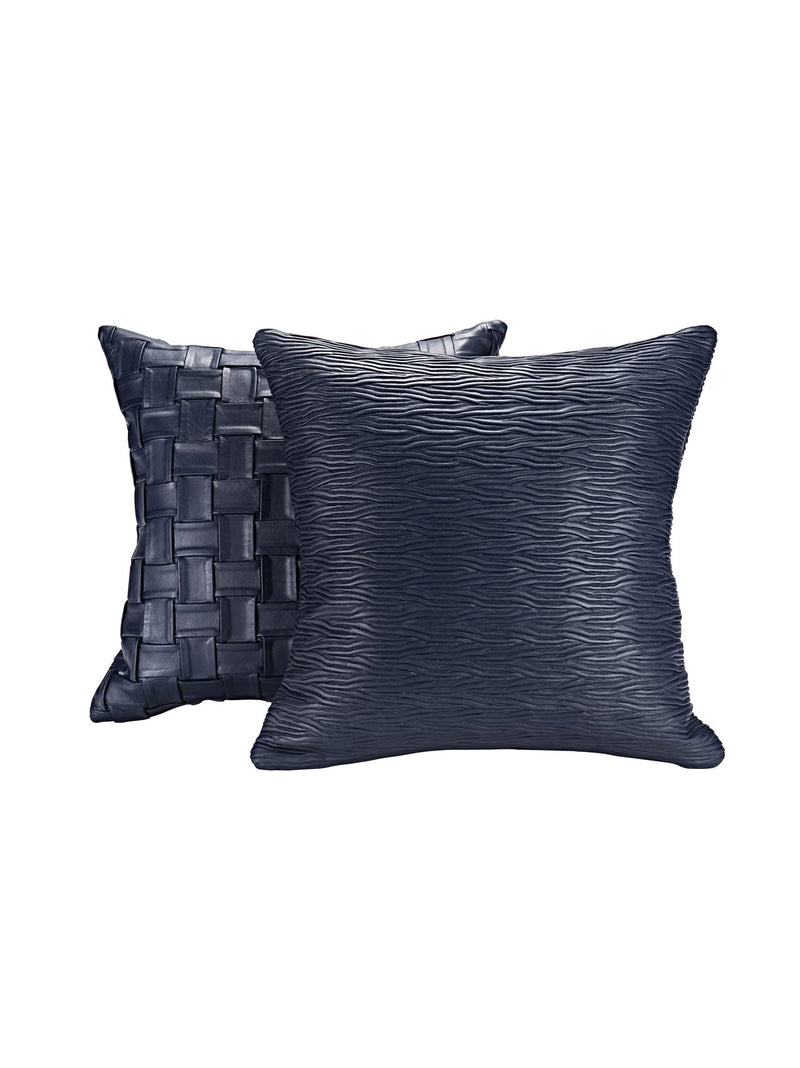 Dandy Plissé Nappa Leather Cushion