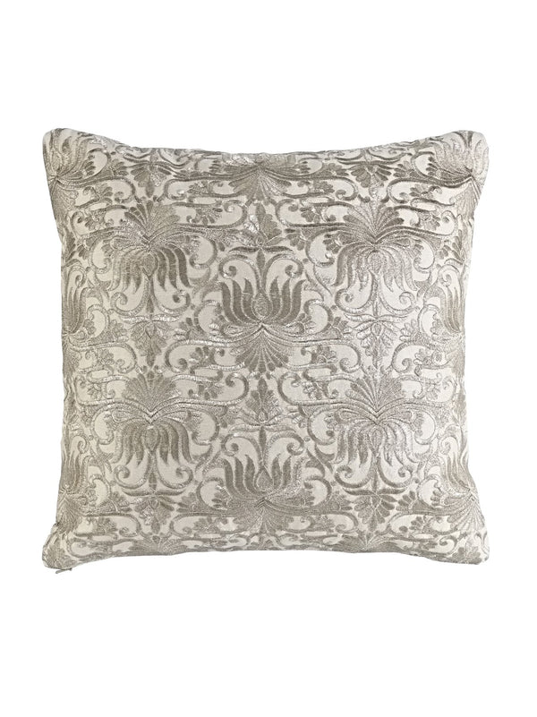 Ethel Metallic Embroidered Cushion
