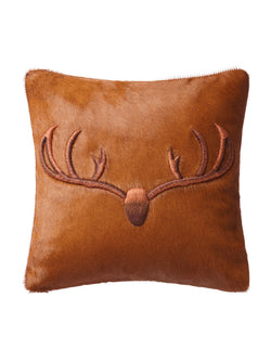 Stag Hair-on-Hide Cushion