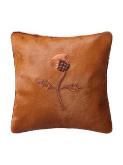 Thistle Hair-on-Hide Cushion