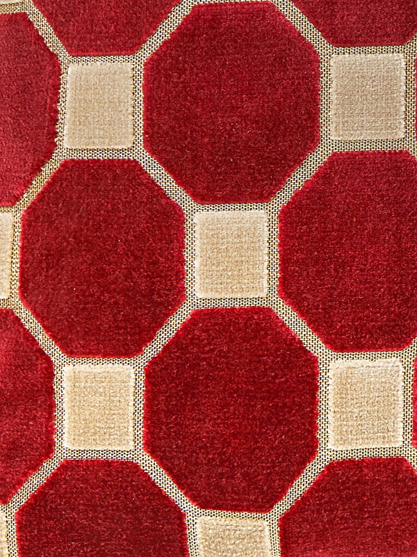 Octagon Velvet Cushion