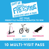 Gift of Freestyle 10 Session