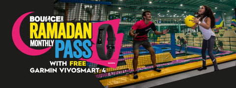 Ramadan Monthly Pass with FREE Garmin Vivosmart 4