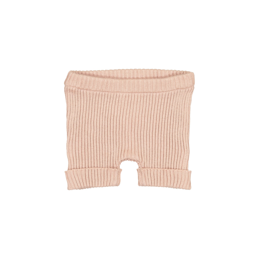 Lil Legs Ribbed Knit Shorts-SS19