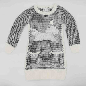 Deux Par Deux Sweater Knit Dress