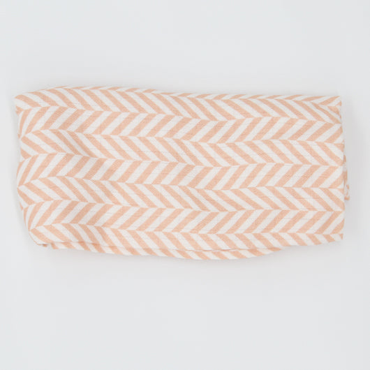 Thick Chevron Bamboo Swaddle