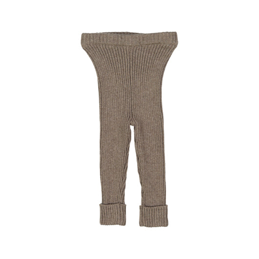 Lil Legs Knit Ribbed Leggings