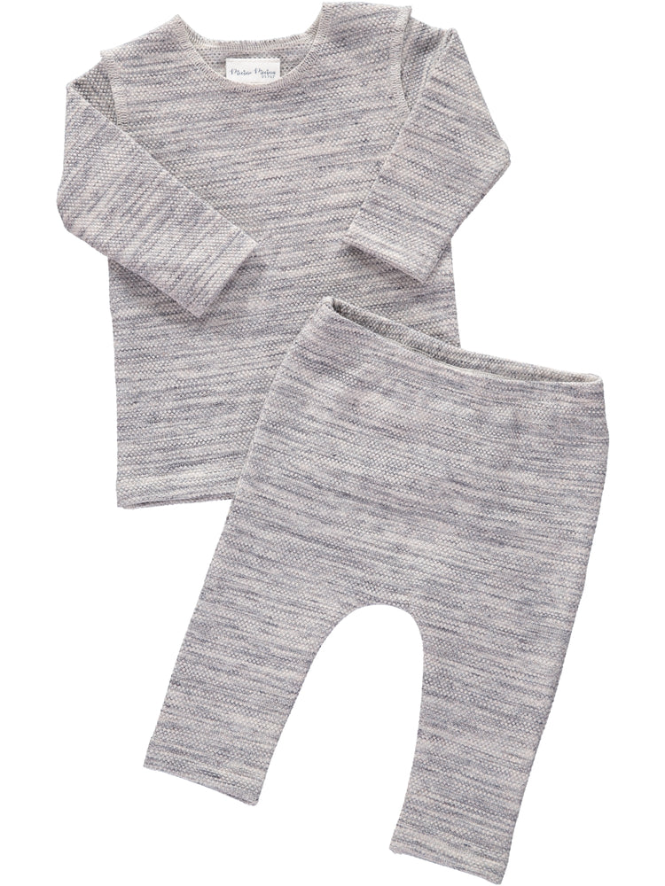 Piccino Piccina Heather 2 Piece Set-FW20