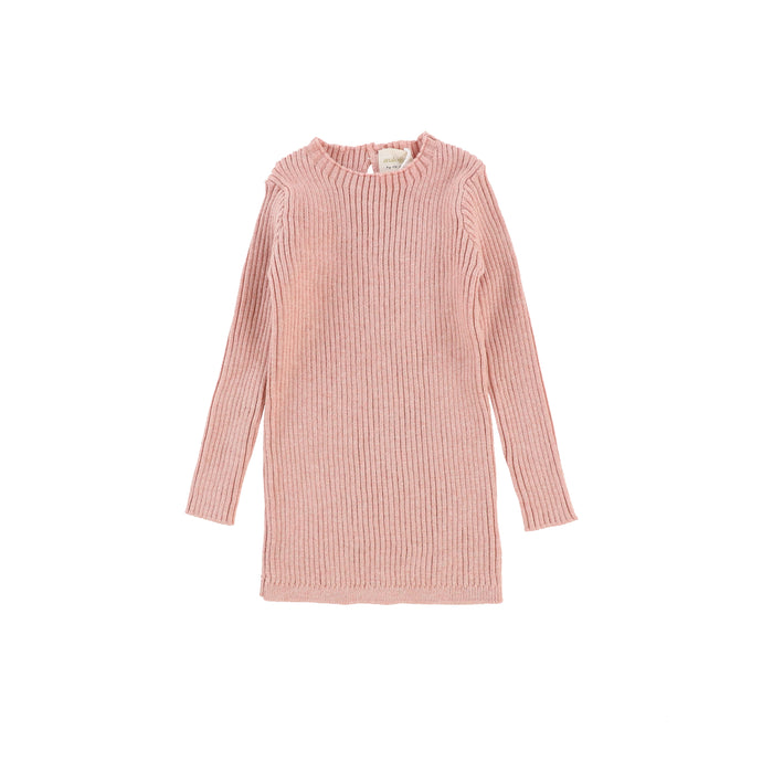 Lil Legs Ribbed Knit Long Sleeve Top-SS20