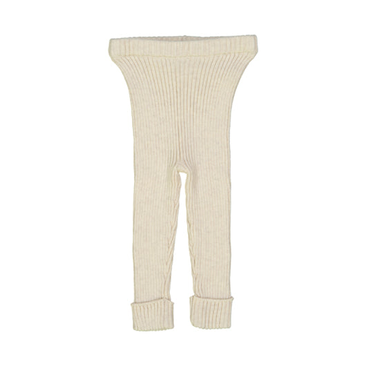 Lil Legs Knit Ribbed Leggings-AW20