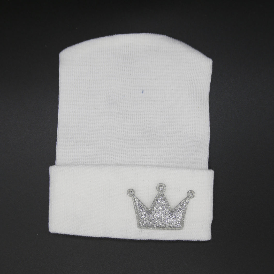 Sparkly Crown Hospital hats