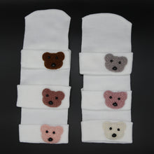 Load image into Gallery viewer, Fuzzy Teddy Bear Hospital hats
