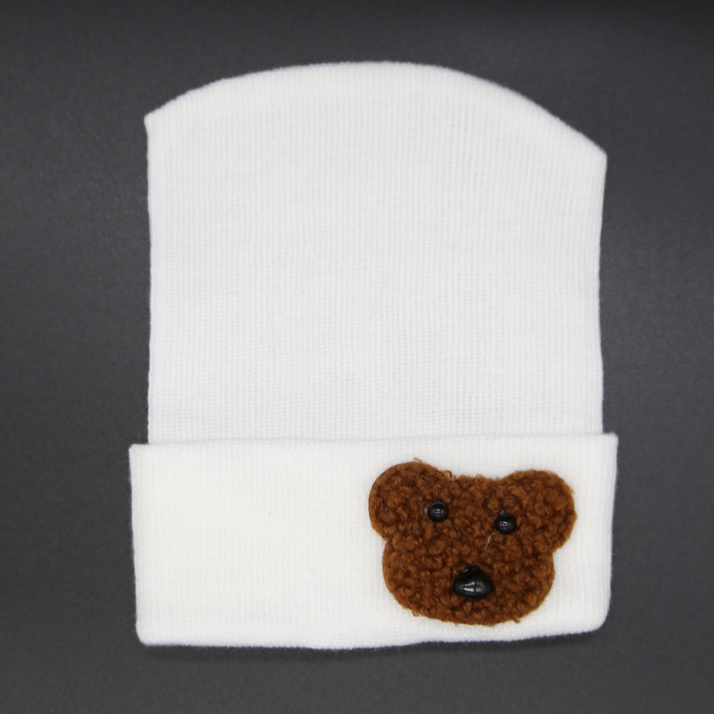 Fuzzy Teddy Bear Hospital hats
