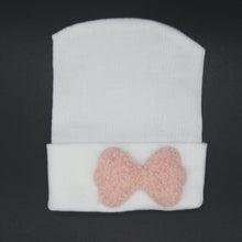 Load image into Gallery viewer, Fuzzy Bow Hospital hats