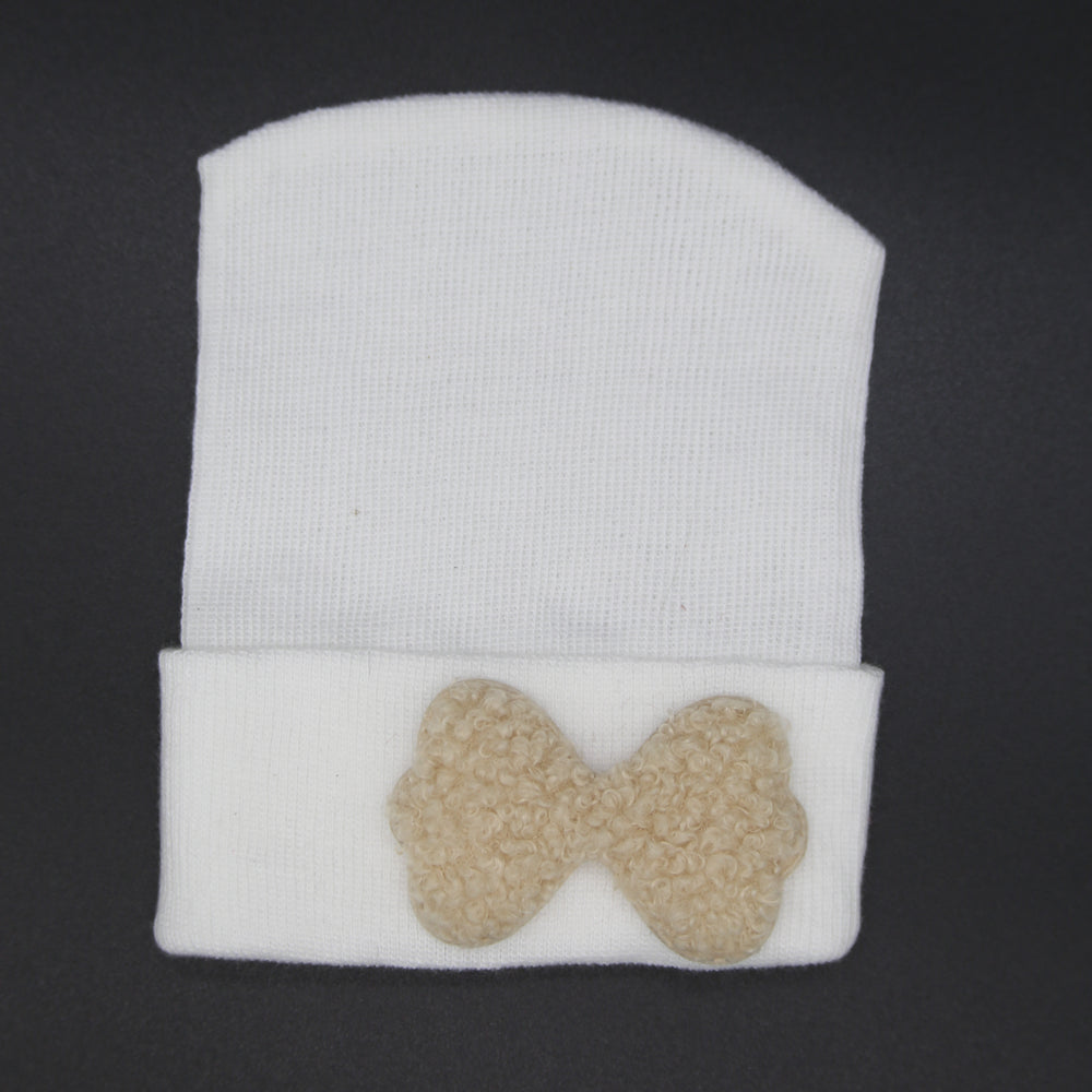 Fuzzy Bow Hospital hats