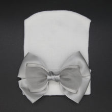 Load image into Gallery viewer, Satin Bow Hospital hats