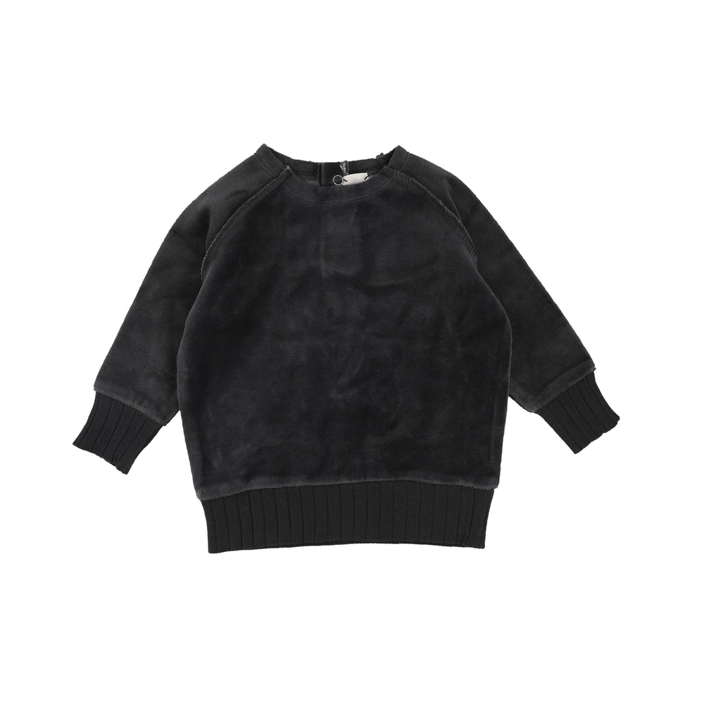 Lil Legs Velour Sweater