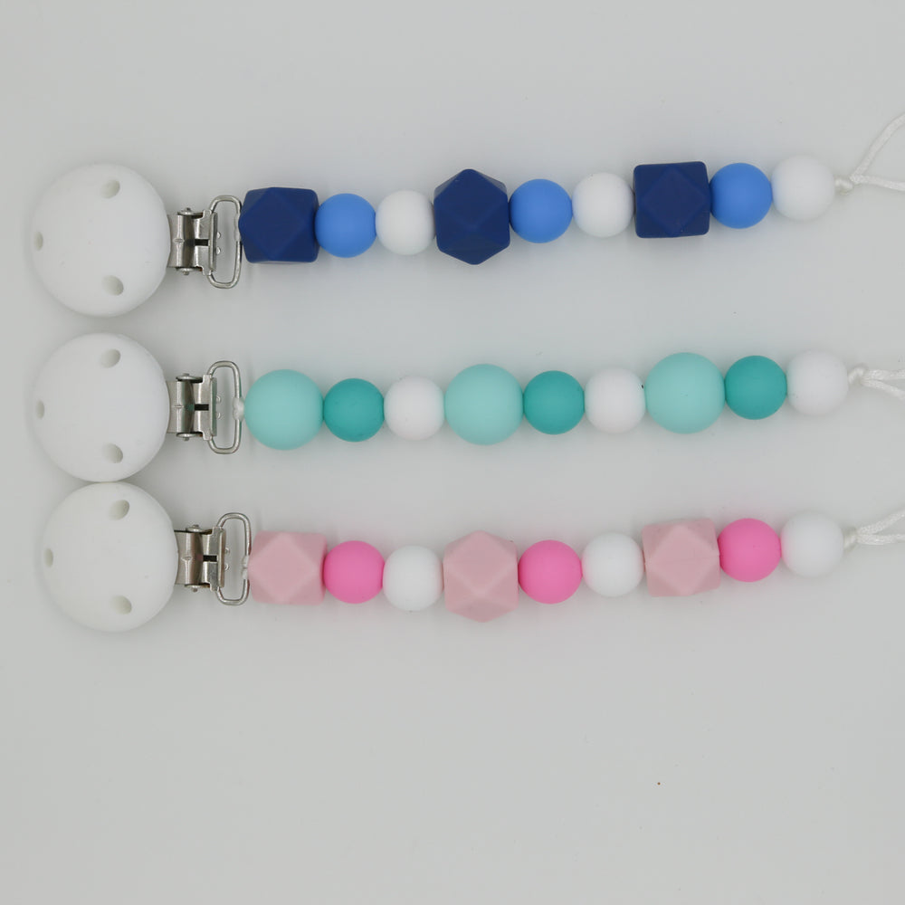 Color Combo Pacifier clips