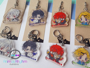 [SALE] Mystic Messenger Set 1 Crystal Acrylic Keychain Do