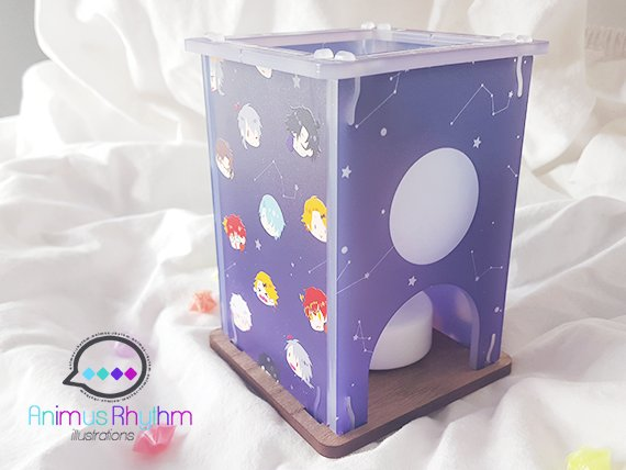 MINI Tea Lamp: Mystic Messenger Space Station