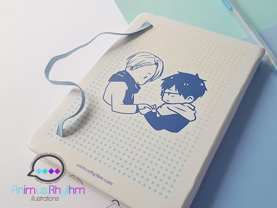 [FINAL SALE] Yuri On Ice!!! Travel Notebook Journal Sketchbook