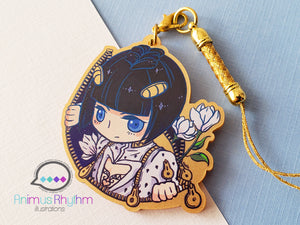 Golden Acrylic strap charm: JoJo Bruno Bucciarati Golden Wind 2in game anime