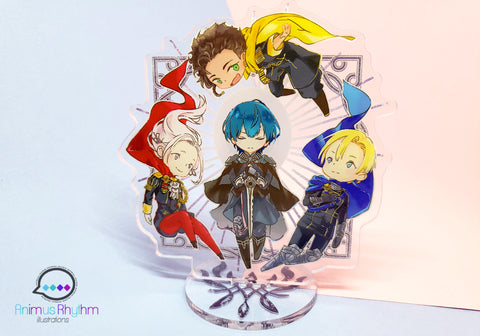 Fire Emblem Three Houses Double Sided Acrylic Standee 4 inches