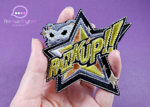 [SALE] Persona 5 RankUP! Embroidery Iron On Patch P5