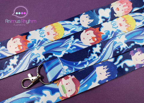 Lanyard Demon Slayer kimetsu no yaiba Anime badge holder