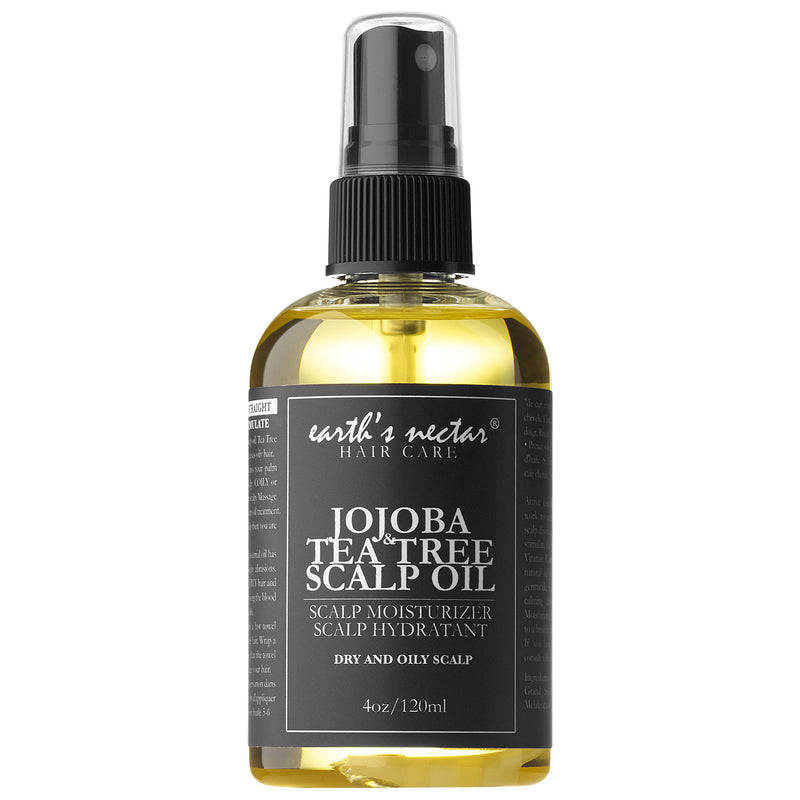 JOJOBA & TEA TREE SCALP OIL