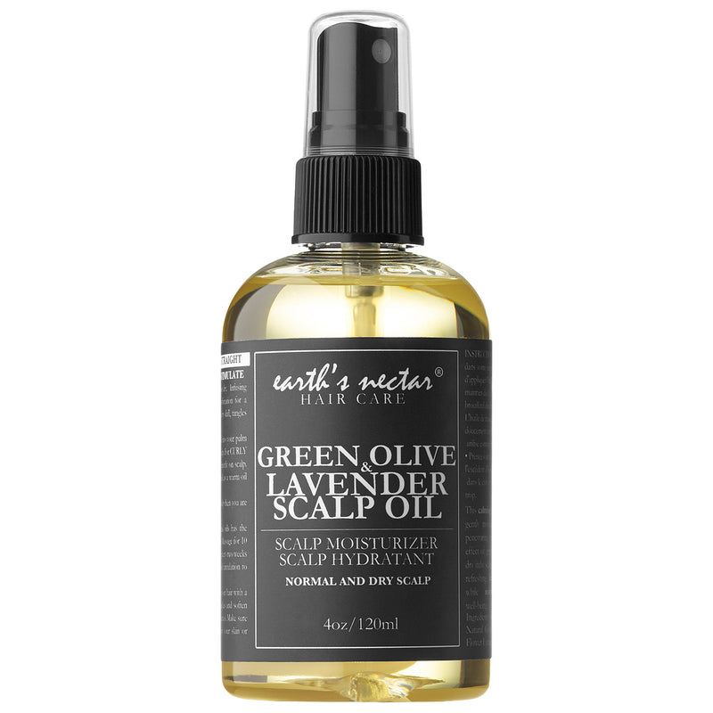 GREEN OLIVE & LAVENDER SCALP OIL