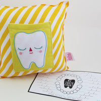 Tooth Pillow - Yellow