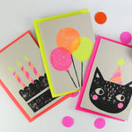 Party Cat Card Set