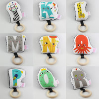 Happy Alphabet Rattle Teether