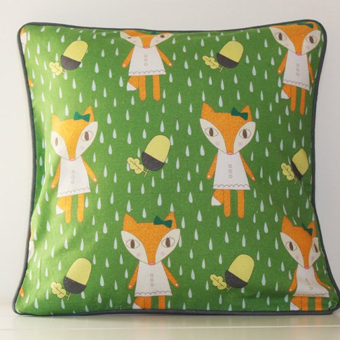 Fox Cushion Cover 30cm
