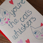 'Cat's Whiskers' Card