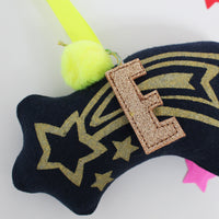 Shooting Star decoration navy