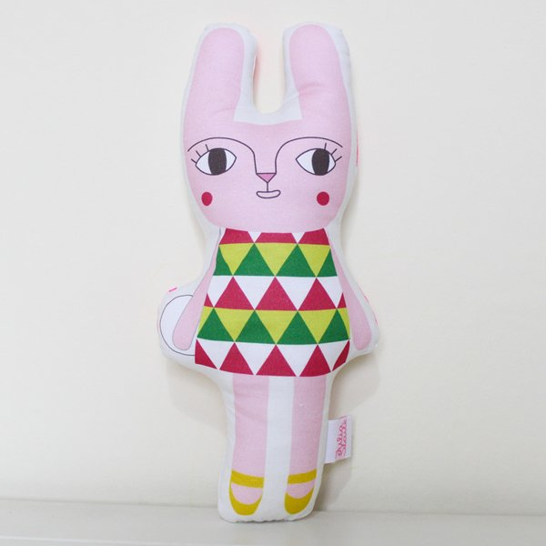 Flower Garden Rabbit Softie