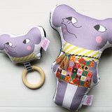 Elephant Rattle Teether