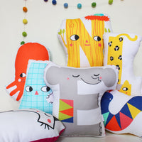 Happy Alphabet Cushion