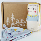 Forest Friends Hat Gift Box